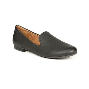 Natural Soul | Ashley Vegan Leather Loafers Flats